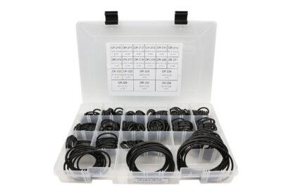 Coffret 5 mallettes de joints toriques - Coffret 5 OR 210 > OR 236 : joints toriques 3,53 mm. (18,64 à 82,14 mm) 280 joints