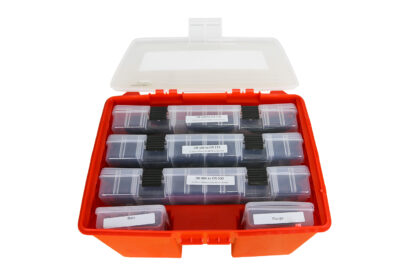 Coffret 5 mallettes de joints toriques - Flange - Boss - OR006 to OR030 - OR109 to OR135 - OR210 to OR236