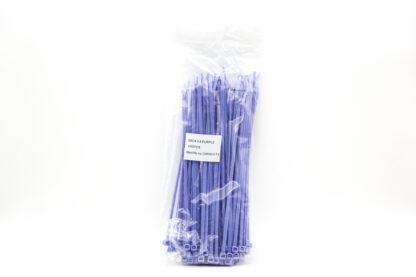 Sachet de colliers de serrage violet