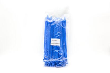 Sachet de rilsan - 100 pièces - couleur bleue