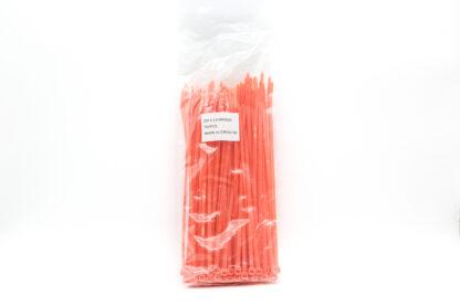 Sachet de rilsan orange - 100 pièces